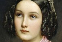 The Gallery of Beauties .Joseph Karl Stieler / Портреты