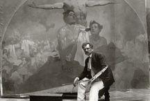 Epopej  et A. Mucha / Peintres tchèques