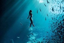 Water / beautiful and serene