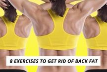 Bringing sexy Back Workouts. / Say goodbye to back fat forever!