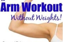 Flex those Biceps Workouts. / For firm & lean arms
