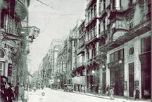 Pera (Beyoğlu) & Galata (Karaköy) / Pera, a district of Constantinople on the European side which encompasses other neighborhoods such as Galata (Karaköy). At the beginning of the 20th century a large and very wealthy Greek community numbering 30,000 lived here.