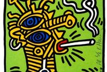 Keith HARING pour Gabriel