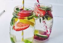 Detox Water. / Fun, Fresh, Quick & Tasty ways to keep you Hydrated