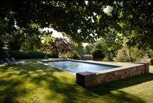 Piscines et Bassins de baignades / Idées de piscines, bassins de baignade, aménagement paysager autour.......