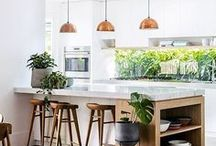 Contemporary Kitchens / Inspirational contemporary kitchens to give you ideas and help you design and plan your own kitchen.  We pin & re-pin content that inspire interior design from our website and also from around the Pinterest community.