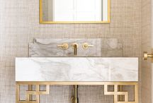 Cloakroom & Powder Rooms / Small cloakroom & powder room ideas - keep it simple? or go full on glamour!