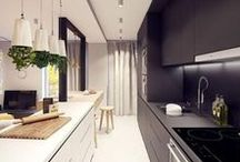 Modern Kitchens / Inspirational minimalist modern kitchens to help you plan and design your own kitchen.   We pin & re-pin content that inspire interior design from our website and also from around the Pinterest community.