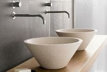 Vessel sinks / Set off your bathroom, or cloak room design with a gorgeous vessel or quirky sink.