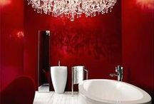 Luxury Bathrooms / A touch of opulence and glamour for the ultimate luxurious or decadent bathroom