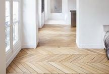 Flooring / Different types of wood, stone or vinyl flooring