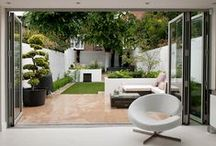Extensions & gardens / A selection of some beautifully designed home extensions creating additional light and space to any home through to a manicured garden
