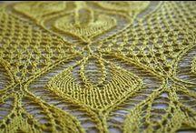 Mi tejido / Prendas tejidas a crochet y dos agujas, puntadas técnicas e ideas para tejer / by Gaby Góngora