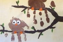 Kids craft-owls