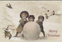 Kartki świąteczne vintage
