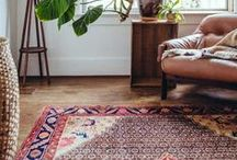 Decorating Inspiration / Ideas for decorating with Persian Rugs