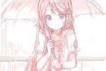 Manga girl ♥_♥