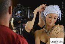 cr jewels // video shooting / CRJEWELS - video shooting  Backstage - Make-up time