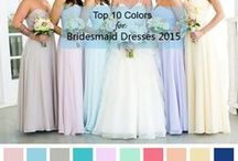 Top 10 Colors for Spring/Summer Bridesmaid Dresses 2015