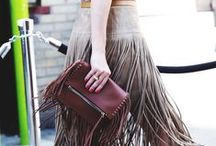 FRINGE everywhere ! / #mostrami #fashion #fringe