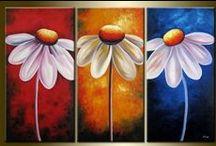 blomster / malerier