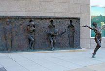 Sculpture and street art