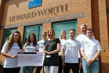 Howard Worth Chartered Accountants - Charity Events / Howard Worth Chartered Accountants in Cheshire take part in a number of charity events throughout the year - view some of our achievements to date.