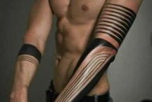 Beautiful Tatoos / High end tribal ink.
