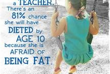 Change Starts with YOU. / Be the change - stop the body bashing and make your home Fat Talk FREE