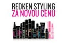 Redken produkty / Vlasová kosmetika REDKEN