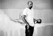 Peter Doig / Peter Doig, born 17 April 1959 is a Scottish painter. One of the most renowned living figurative painters, he has settled in Trinidad since 2002. In 2007, his painting White Canoe sold at Sotheby's for $11.3 million, then an auction record for a living European artist. In February 2013, his painting, The Architect's Home in the Ravine, sold for $12 million at a London auction.