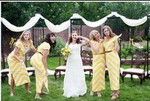 Bright Yellow Summer Wedding / Inspired by our bright yellows palette for a summer wedding
