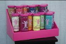 Pink Zebra Product Display Ideas / Tips for setting up your Pink Zebra Products at vendor events using Stack Displays!