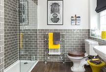 Subway Tile; Bathroom