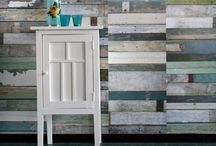 Accent Walls in Wood