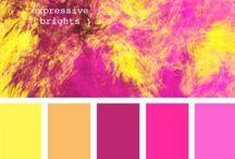 Color Palette Crazy! / Colors, pantone colors, color palettes, color schemes & color tones.
