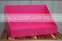 Stack Displays Videos / Videos featuring our products, new products and assembly instructions! Check back often to see what's new at Stack Displays!