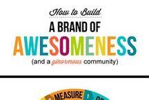 Branding, Marketing, Logos & More / Unique branding, marketing and logo ideas to grow your business.
