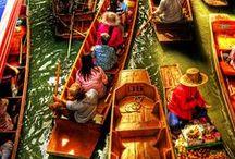 Thaïlande - Inspiration / Inspiration de voyage et choses à découvrir en Thaïlande