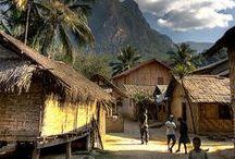 Laos - Inspiration / Inspiration de voyage et lieux à explorer
