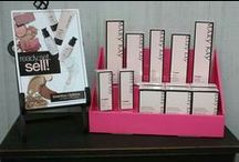 Mary Kay Display Ideas / Mary Kay Vendor Table and Party Display Ideas for Consultants.