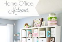 Office & Work Spaces / Home Office and Work Space ideas and Inspiration! Organization and design ideas for your home office, work space or craft room.
