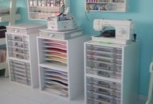 Craft, Scrapbooking & Sewing Rooms / Rooms and ideas for crafters, scrapbookers and sewers!