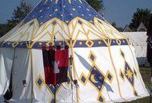 Lager / Zelten im Mittelalter