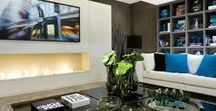 TV Fireplace / TV fireplace set, a true trend in interior design. But how should a Television be installed beside or above a fireplace or ethanol burner?