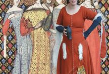 1370 Damen Gewandt / Historische Gewandung