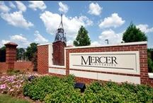 Mercer University / Mercer University is one of America's oldest and most distinctive institutions of higher learning, offering rigorous programs that span the undergraduate liberal arts to doctoral-level degrees. Learn more about Mercer by visiting about.mercer.edu.  / by Tift College of Education