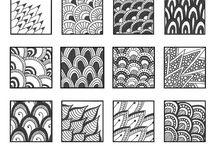 Pattern Zentangle Doodle