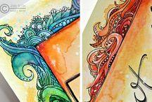 Borders Zentangle Doodle
