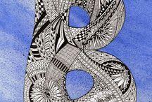 Zentangle Pattern B.